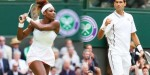 Serena Williams and Novak Djokovic will start as the favourites in the men's and women's division respectively (image: news18.com)