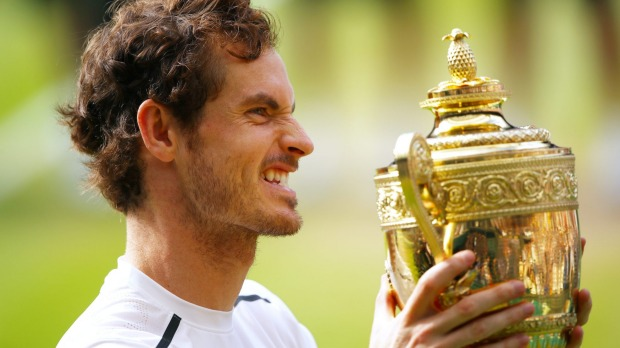 Andy Murray is the Wimbledon 2016 Champion