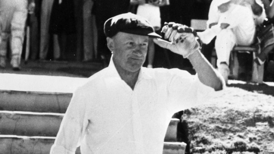 Bradman's superhuman Records