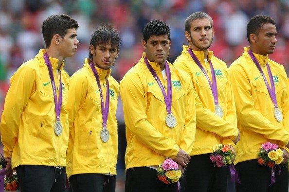 Brazil's 18-member squad for Olympic football