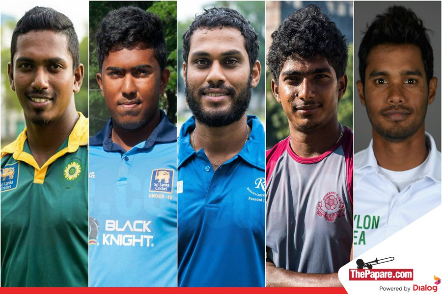 Four new faces in Sri Lanka squad