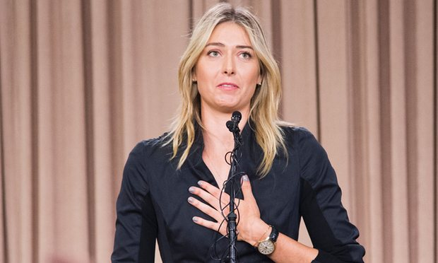 Sharapova Ruled Out from Olympic