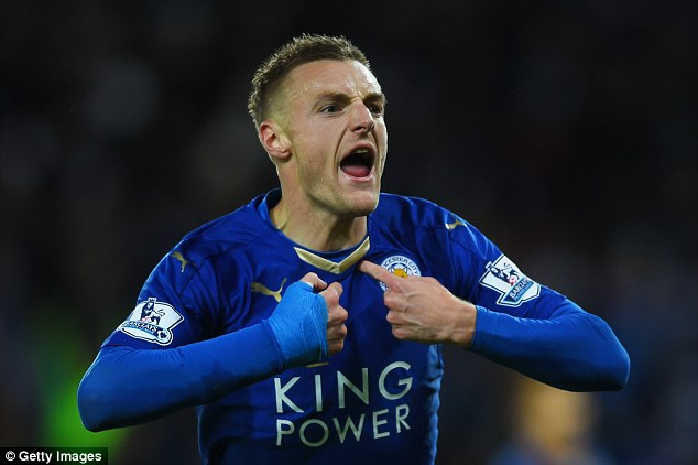 Star Striker Vardy will stay at Leicester