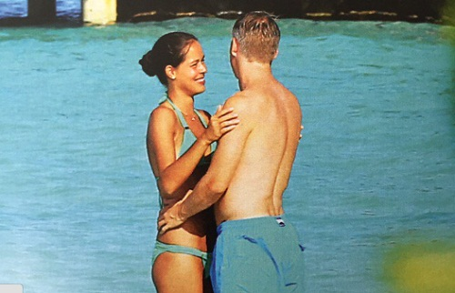 Tennis star Ana Ivanovic and her football-playing husband whisked away ...