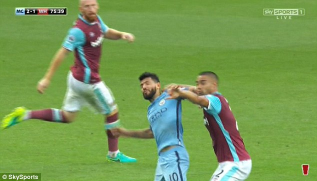 Aguero Suspended for three matches