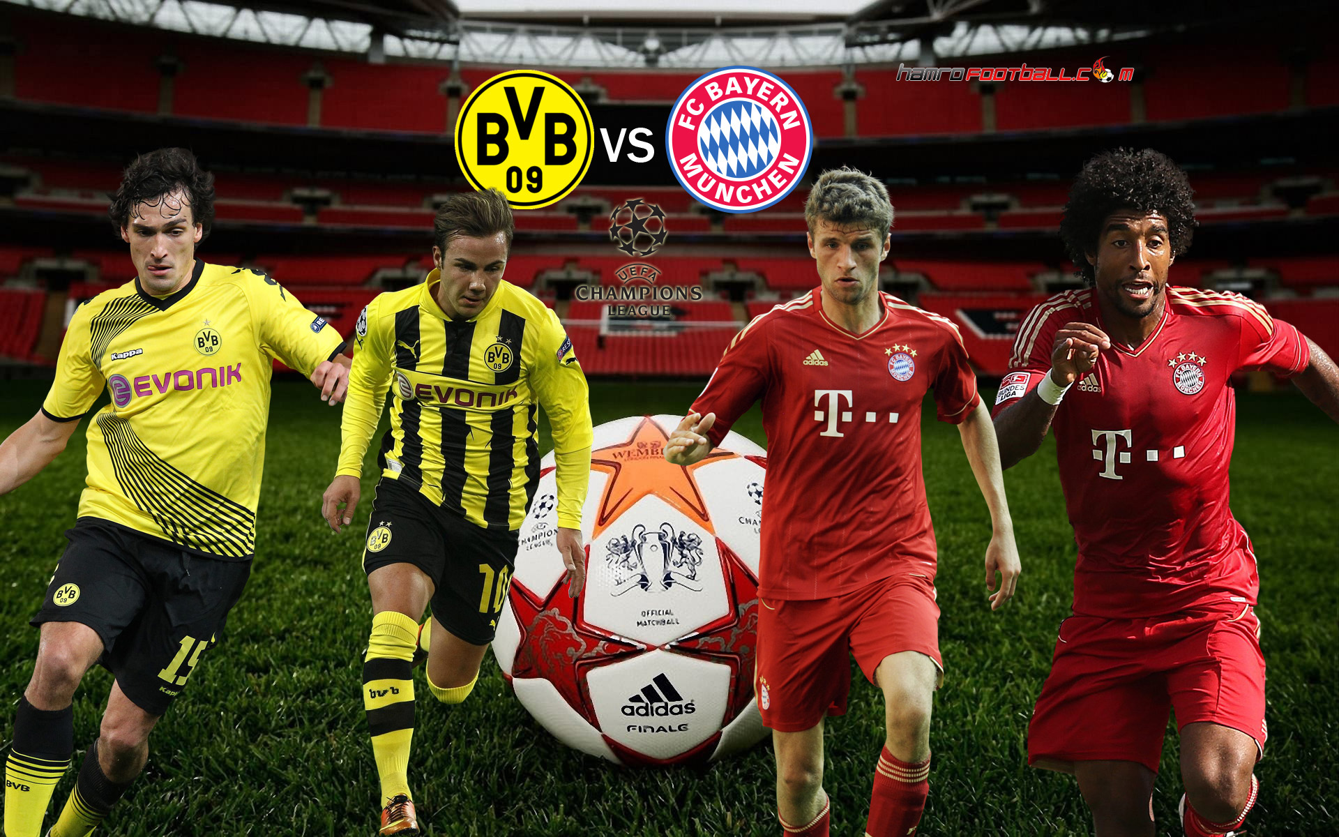 bayern munich vs borussia dortmund today