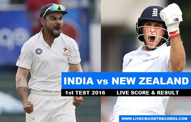 New Zealand 1st Test Team against India