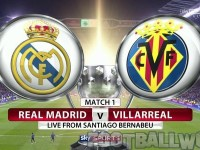 Real Madrid Vs Villarreal Live
