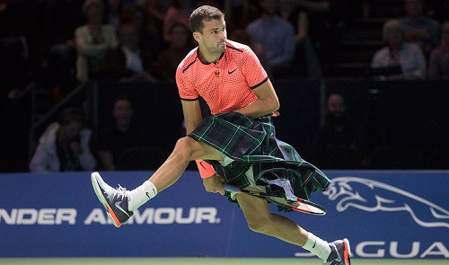 Image result for dimitrov wearing kilts