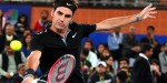 Federer in action at the IPTL (courtesy: zeenews)