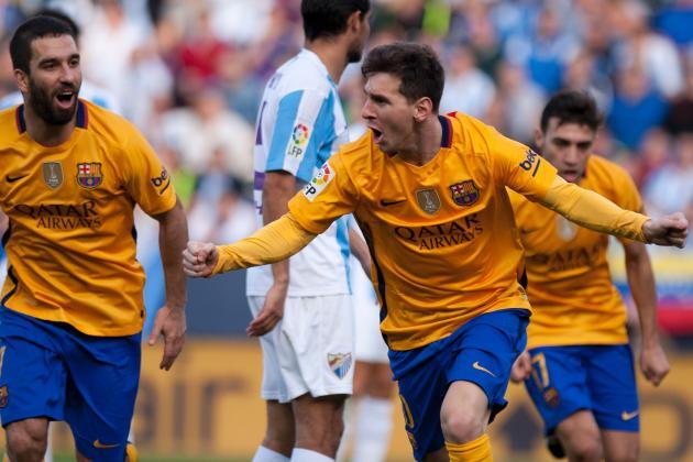 Barcelona Vs Malaga La Liga