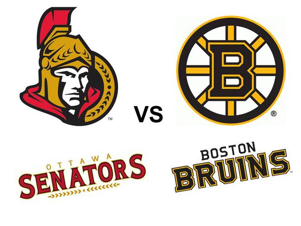 Boston Bruins Vs Ottawa Senators