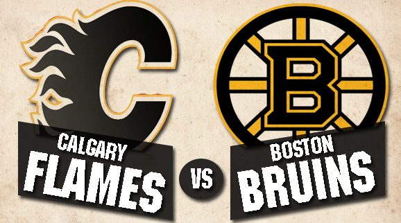 Calgary Flames Vs Boston Bruins