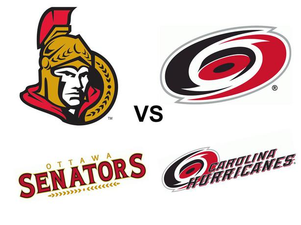 Carolina Hurricanes Vs Ottawa Senators