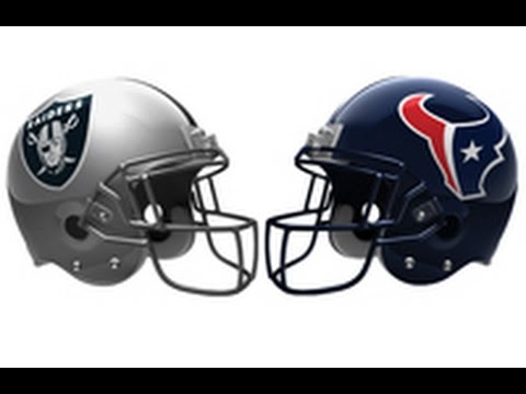 Oakland Raiders Vs Houston Texans