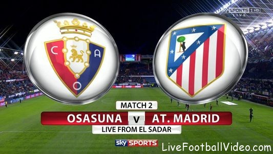 Osasuna Vs Atletico Madrid Match Prediction
