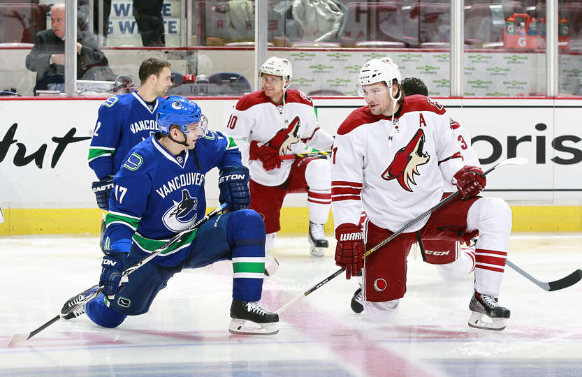 Vancouver Canucks Vs Arizona Coyotes