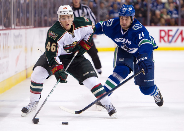 Vancouver Canucks Vs Minnesota Wild