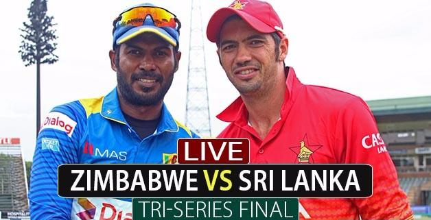Zimbabwe Vs. Sri Lanka
