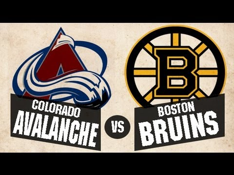 25b844f1a6e Boston Bruins Vs Colorado Avalanche Match Details in NHL 2016 ...