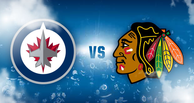 Chicago Blackhawks Vs Winnipeg Jets