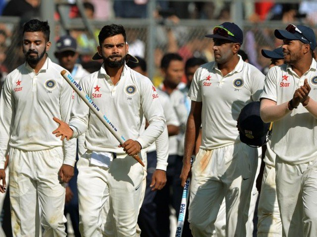 India confirmed the series against England at Wankhede