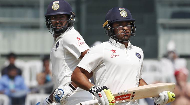 India scored ton of run in Chennai: Lead by 105 runs