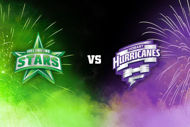 Melbourne Stars will meet Hobart Hurricanes at Blundstone Arena
