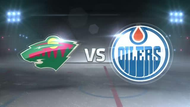 Minnesota Wild Vs Edmonton Oilers