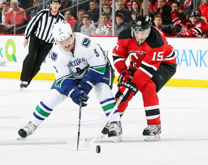 New Jersey Devils Vs Vancouver Canucks