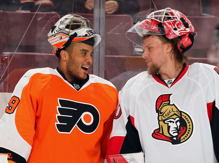 Ottawa Senators Vs Philadelphia Flyers