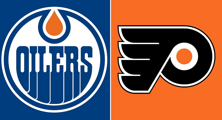 Philadelphia Flyers Vs Edmonton Oilers