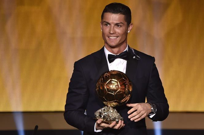 Ronaldo wins Ballon d'Or, Messi lost