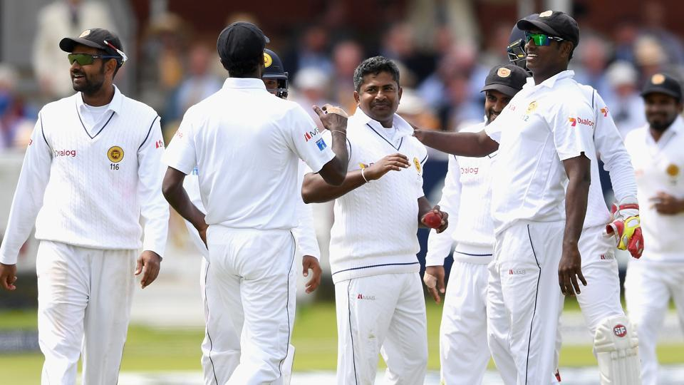 Sri Lanka started batting in 2nd innings of warm up match