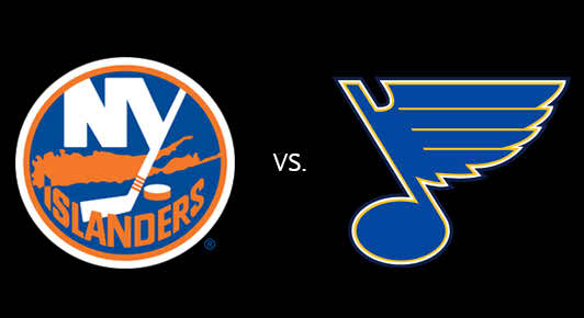 St. Louis Blues Vs New York Islanders