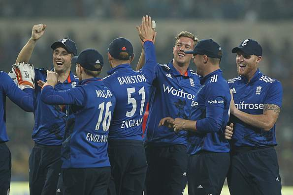 England got victory over the Blues by 7 wickets in 1st T20 at Kanpur
