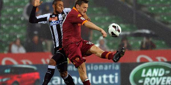 Udinese Vs Roma match preview and TV channels, streaming