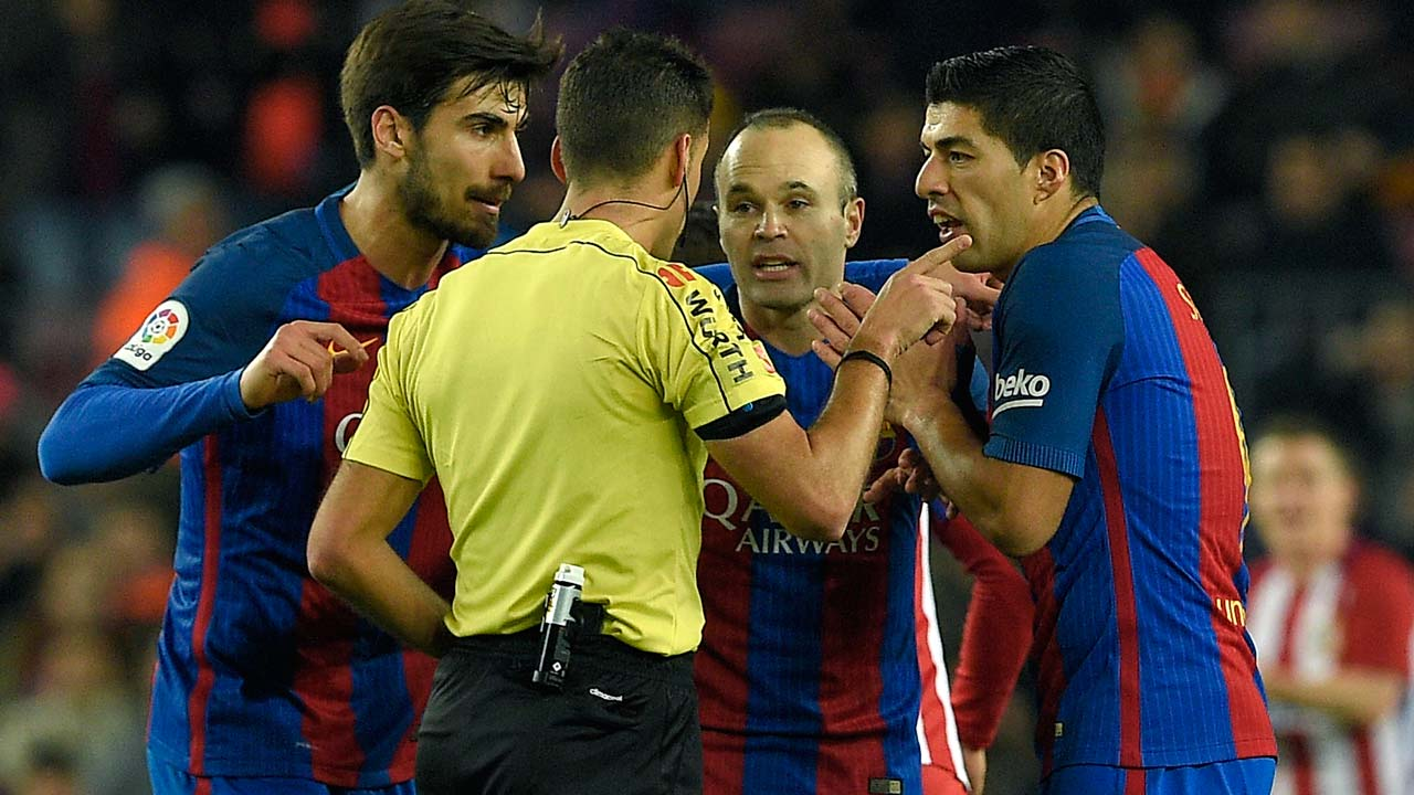 Red card made Suarez angry