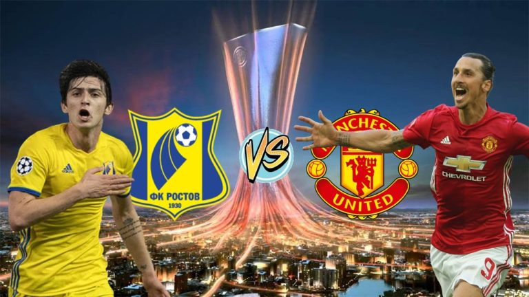 ساعت و پخش زنده بازی روستوف و منچستر یونایتد در لیگ اروپا 2017