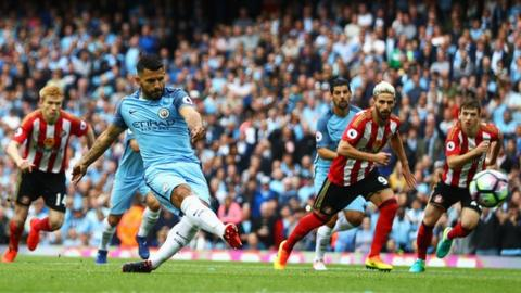 Man City beat Leicester City by 2 - 0