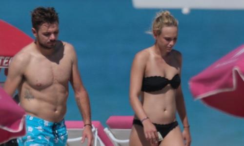 Stan Wawrinka takes girlfriend Donna Vekic on beach outing - TSM PLUG