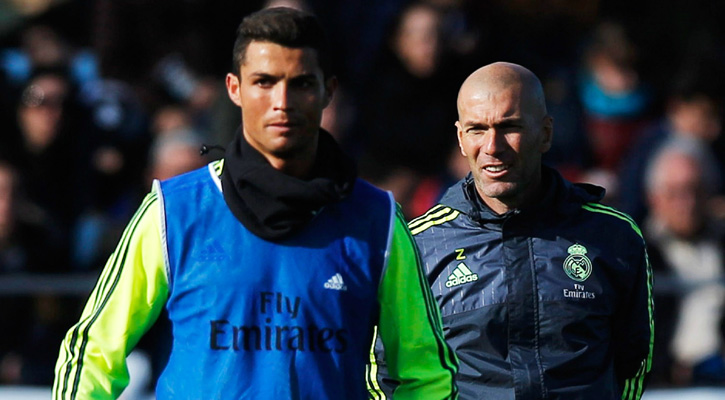 Real Madrid CF need you: Zinedine Zidane to Cristiano Ronaldo
