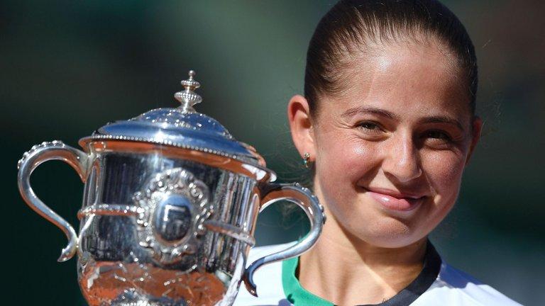 French Open victor Jelena Ostapenko