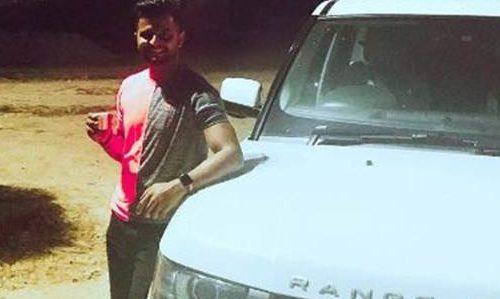 Indian cricketer Suresh Raina's SUV suffers tyre burst