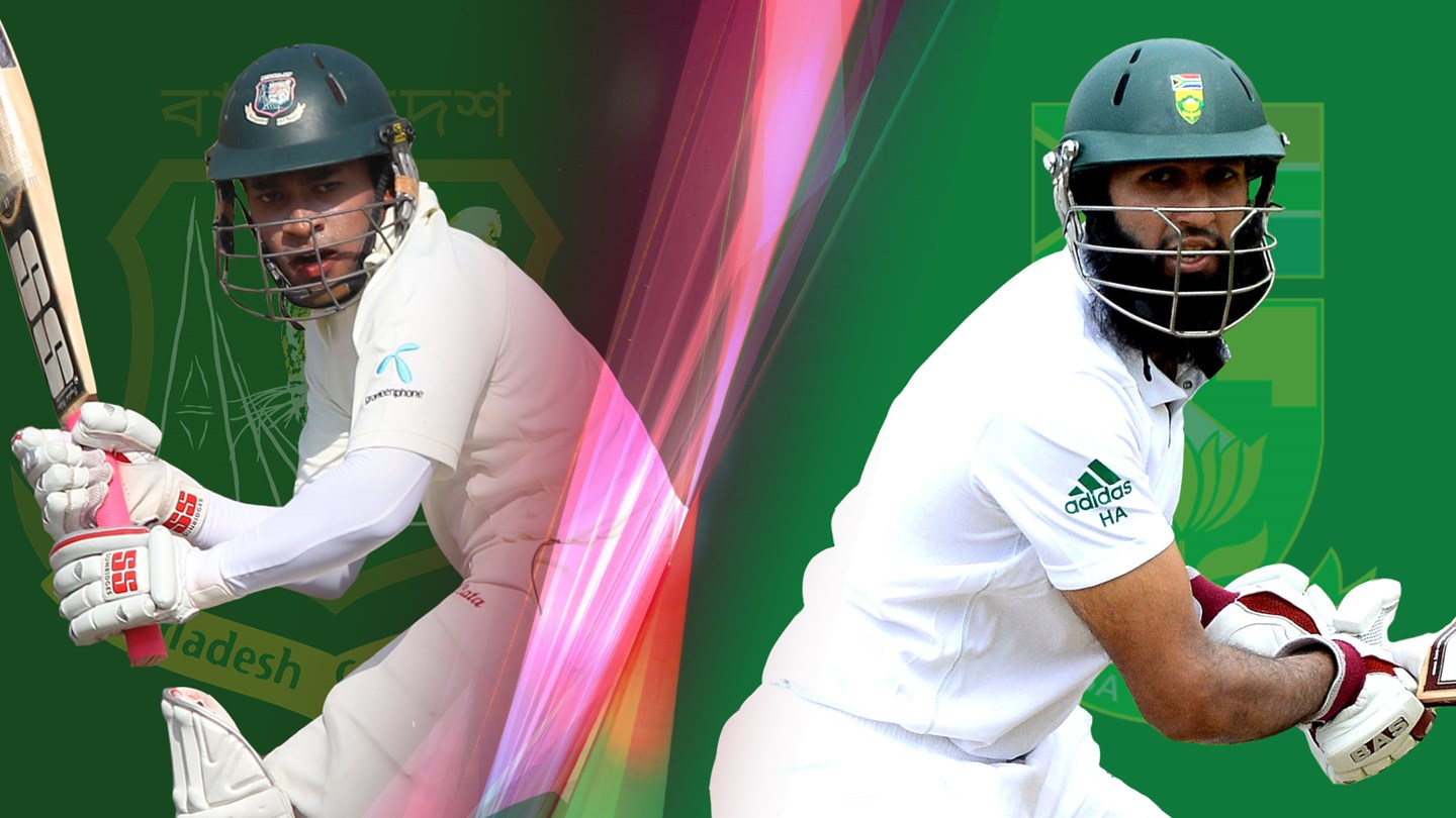 Bangladesh suffering batting disaster in 2nd Test at Bloemfontein