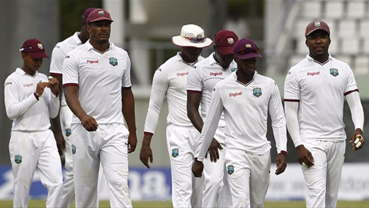 West Indies finished 1st day scoring 301 runs