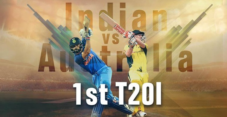 Aussie's 1st T20I against India has started: Team India is in field