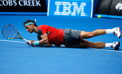 Nadal saves two match points in massive China scare