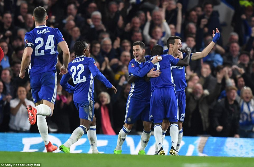 Chelsea secured place in knockout phase of UCL