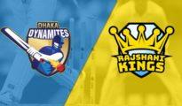Dhaka Dynamites won by 68 runs against Rajshahi